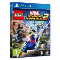 WARNER - Jeu PS4 LEGO MARVEL SUPERHEROES 2
