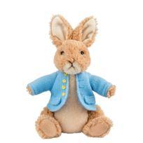 Enesco - A26420 Peluche Peter Rabbit Moyen Gilet Bleu Polyester