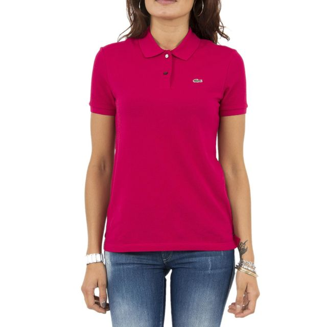 2167657b73 Lacoste - Polos pf7839 rose 42 - pas cher Achat / Vente Polo femme ...