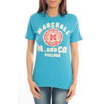 Sweet Company - T-shirt Marshall Original M and Co 2346 Bleu