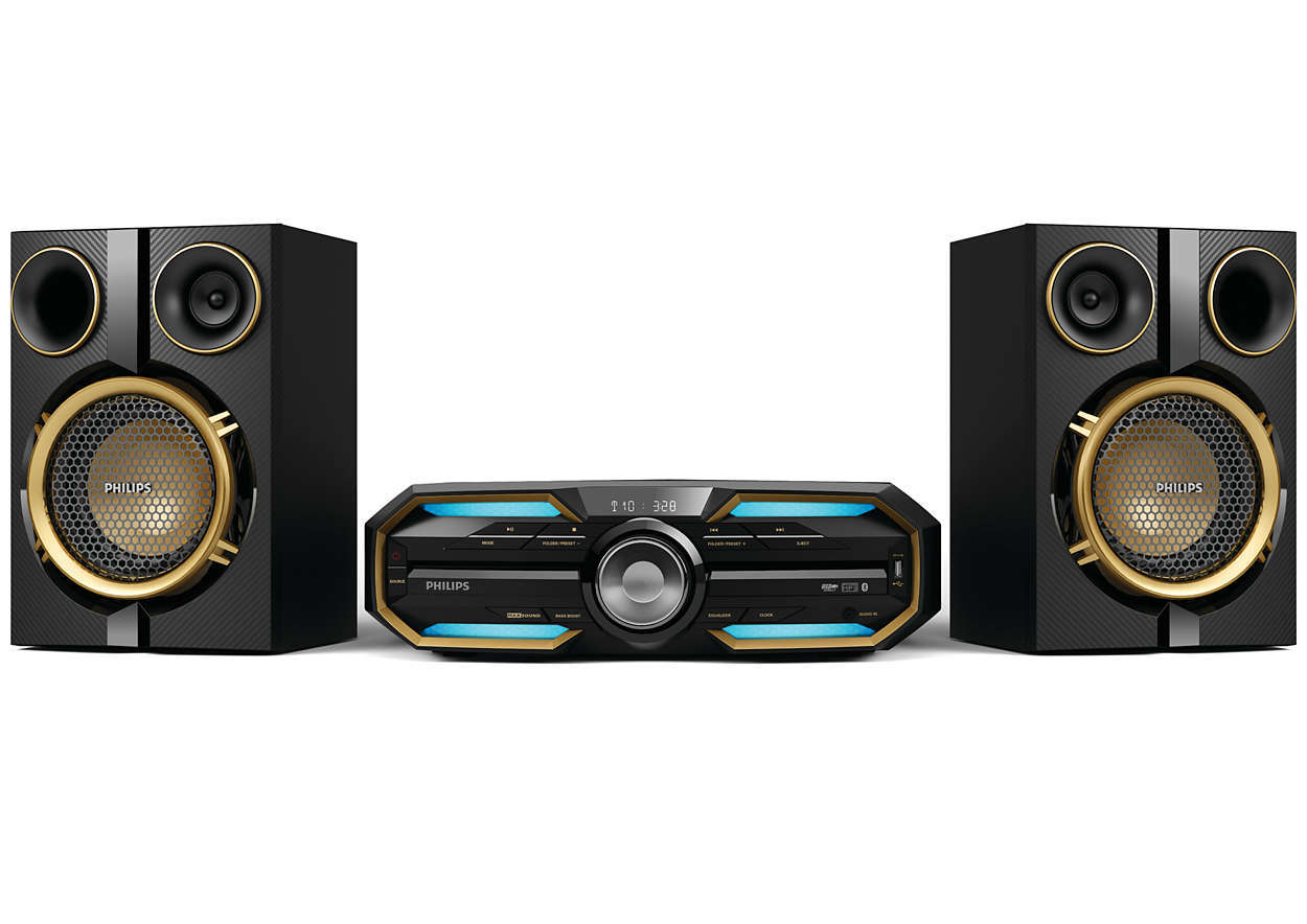 Chaine hifi Bluetooth 300 Watts - FX25/12