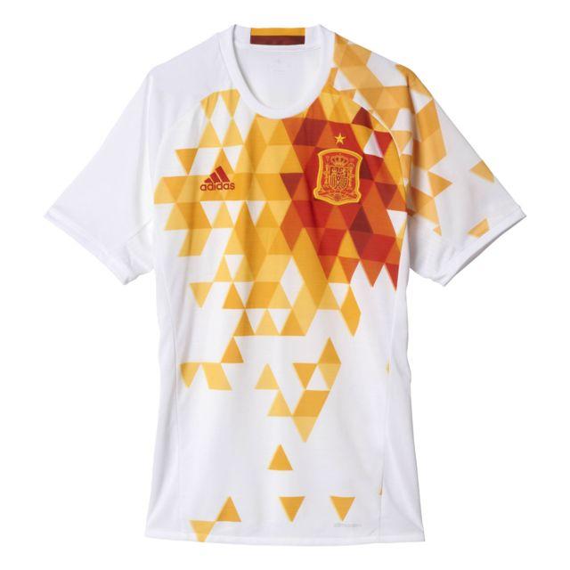bac7b1bf675 Adidas - Maillot Espagne Ext rieur Replica Uefa Euro 2016 - pas ...
