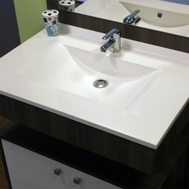 creazur plan simple vasque centr e r siplan 70 cm pas cher achat vente vasque. Black Bedroom Furniture Sets. Home Design Ideas