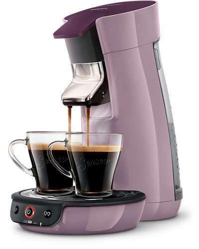 PHILIPS Machine à café à dosettes Viva Café HD7829/41