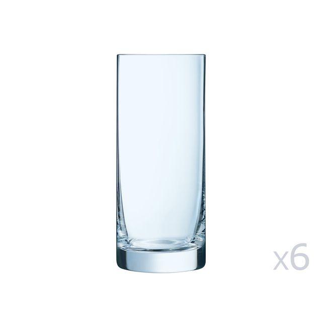 Chef Et Sommelier Gobelet en verre forme haute 45cl - Lot de 6 pièces Linely