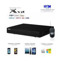 Dahua - Xvr 8 canaux full 1080N/720P + 2 canaux Ip 5MP + sorties alarme