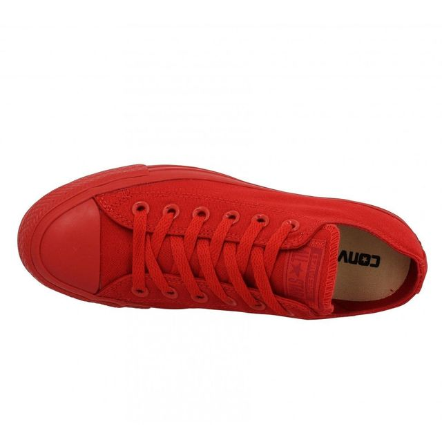 Converse Chuck Taylor All Star toile Homme 39 Mono Rouge