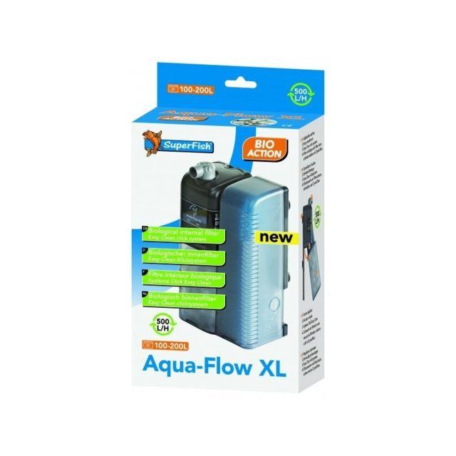 Le Poisson Qui Jardine Filtre interne 500 l/h pour aquarium Superfish Aqua Flow Xl