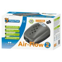 Superfish - Pompe à Air Air-Flow pour Aquarium - 240 L/H