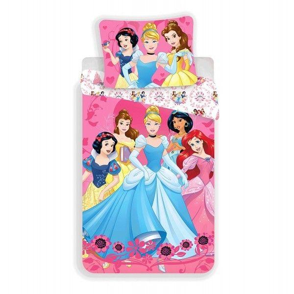Disney princesses princesses disney parure de lit - Tour de lit princesse disney ...