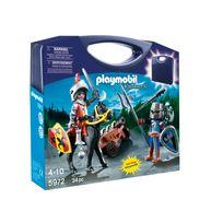 PLAYMOBIL - Valisette chevaliers - 5972