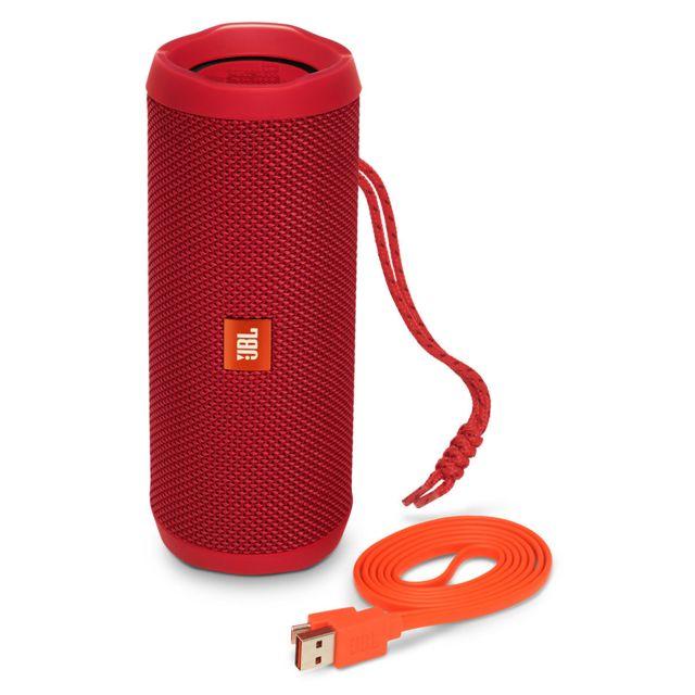jbl flip 4 rouge pas cher achat vente enceinte nomade rueducommerce. Black Bedroom Furniture Sets. Home Design Ideas