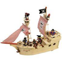 John Crane - Bateau De Pirate Paragon, Jouet En Bois
