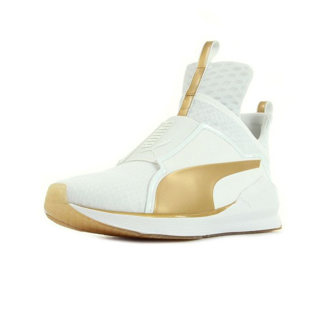 chaussure puma dore