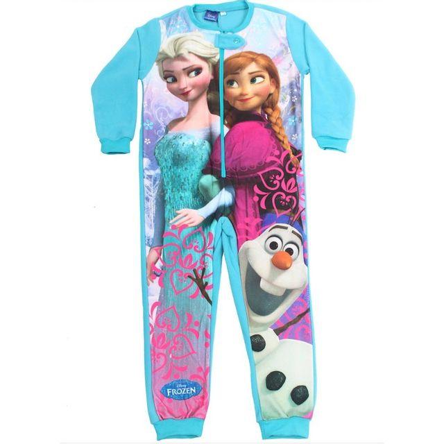 e2d07d372f01d La Reine Des Neiges - Pyjama Combi - pas cher Achat   Vente Pyjamas -  RueDuCommerce