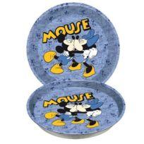 Mickey - Et Ses Amis - Disney - Plateau métal et Minnie