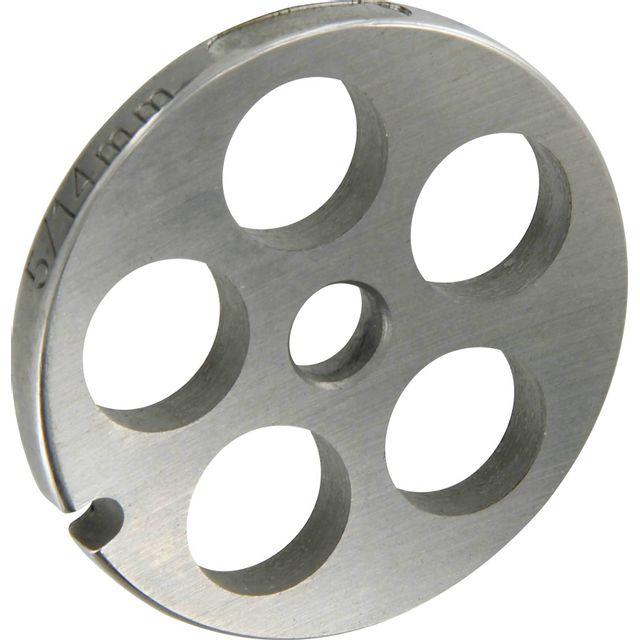 Reber Grille inox Pour hachoir électrique ou manuel n°5 Trou 14mm