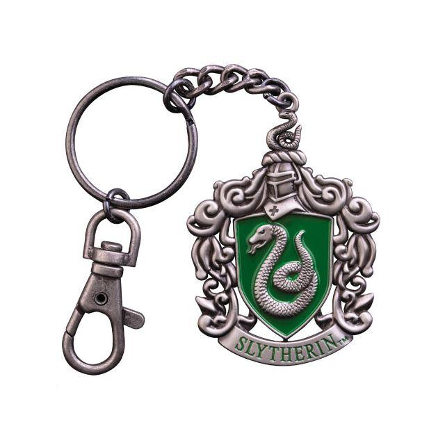 Noble Collection Harry Potter Porte Clés Métal Slytherin 5 Cm
