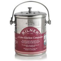 Kilner - Composteur en inox avec 2 filtres à charbon 2L Accessoires