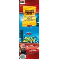 Wdk Partner - A0902681 - Papeterie Et Autocollants - Jeux Et Coloriages Cars