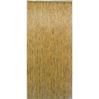 - Rideau de porte bambou naturel 90 x 200 cm