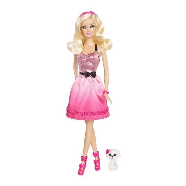Barbie mattel poup e et son chien pas cher achat vente poup es rueducommerce - Barbie et son chien ...