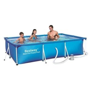 Best Way - Splash Frame Pool Piscine rectangulaire tubulaire 3 x 2,01 x 0,66m Bestway