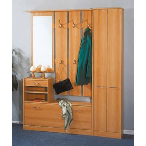 modern look garderobe armoire d 39 appoint hetre pas. Black Bedroom Furniture Sets. Home Design Ideas