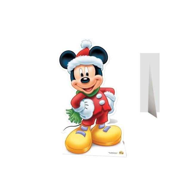 marque generique silhouette de mickey p re no l en. Black Bedroom Furniture Sets. Home Design Ideas