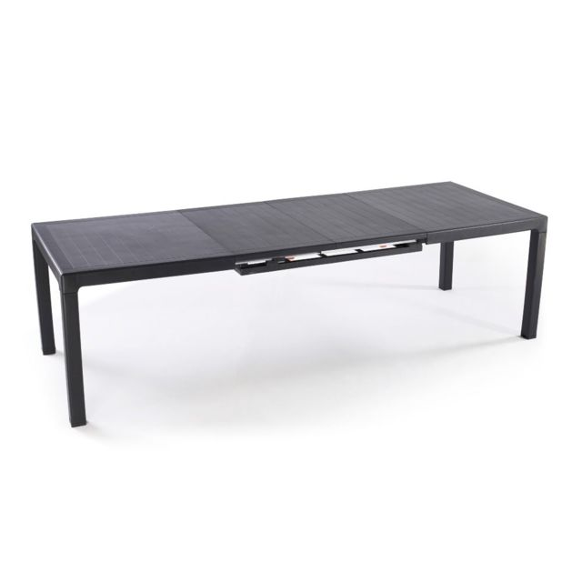KETER - Table de jardin extensible SONATA - 215,5/269 x97x75 ...