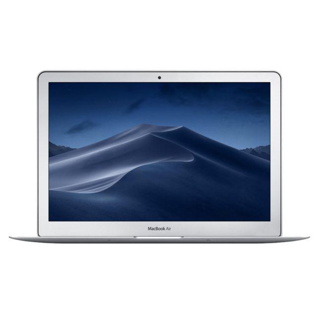 """APPLE MacBook Air 13 - 512 Go - MQD52FN/A - Argent Processeur Intel Core i7 (2,2 GHz / 3,2 GHz Turbo)- Ecran 13,3"""" LED (brillant) - Résolution de 1440 x 900 pixels - SSD 512 Go - RAM 8 Go - Chipset graphique Intel HD Graphics 6000 -&nbsp"""