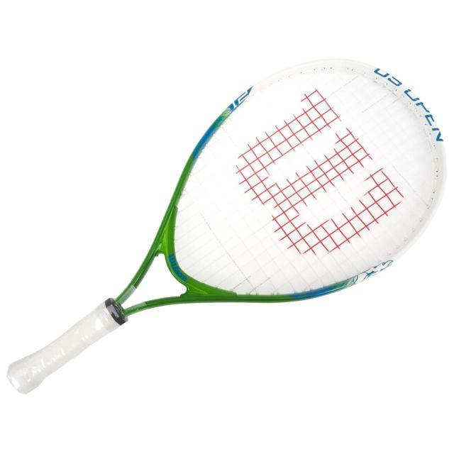 235f80cacc188 Wilson - Raquette de tennis Us open 21 verte Vert 10677 - pas cher Achat    Vente Raquette de tennis - RueDuCommerce