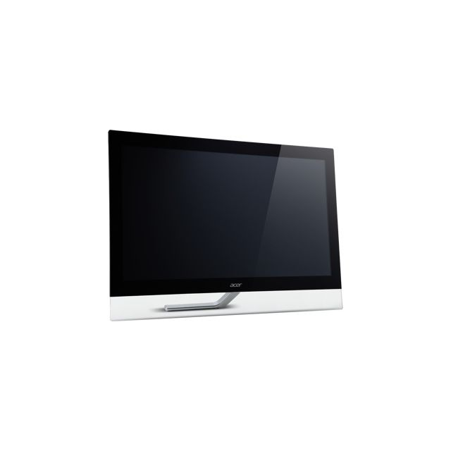 Acer - T232HLbmidz - Écran Led - 23'' - Multi-point - 1920 x 1080 FullHD - E-ips - 250 cd m2 - 100000000:1 dynamique 5 ms - Hdmi, Dvi, Vga - haut-parleurs - noir