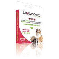 Biospotix - Collier Répulsif pour Grand Chien 75cm