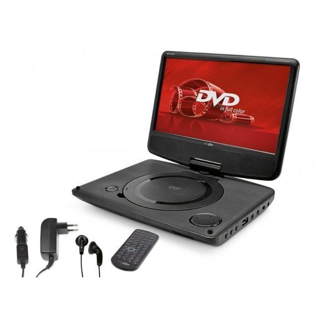 caliber lecteur dvd portable ecran rotatif 9 tft led. Black Bedroom Furniture Sets. Home Design Ideas