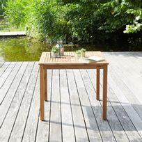 Table de Jardin Carrée - Achat Table de Jardin Carrée pas cher - Rue ...