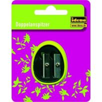 Idena - 522215 Taille-crayons double Plastique Vert Import Allemagne