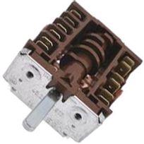 Indesit - Commutateur plaque electrique 6+0 positions - Four, cuisinière