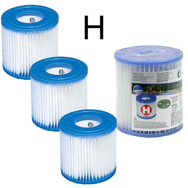 Intex 4 cartouches de filtration pour filtre piscine - Cartouche filtre piscine magiline ...