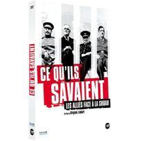 Editions Montparnasse - Ce qu'ils savaient : Les alliés face à la Shoah Dvd