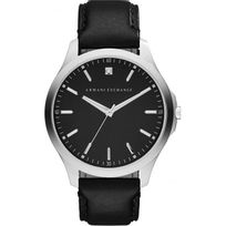 Armani - Montre Exchange Ax2182 - Montre Diamant Cuir Noir Homme