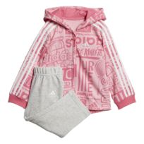 0d6ee3323627f Adidas - Ensemble sportswear Linear Hoodie Fleece - pas cher Achat ...
