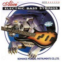 Alice - Jeu de cordes pour Basse Electrique 4 Cordes ~ sous blister