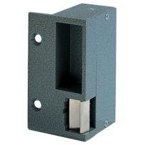 Eff Eff - Gache Electrique Applique Aluminium - Pour Serrure Horizontale - Sens:Droite - Mode:Emission - Tension:12 V