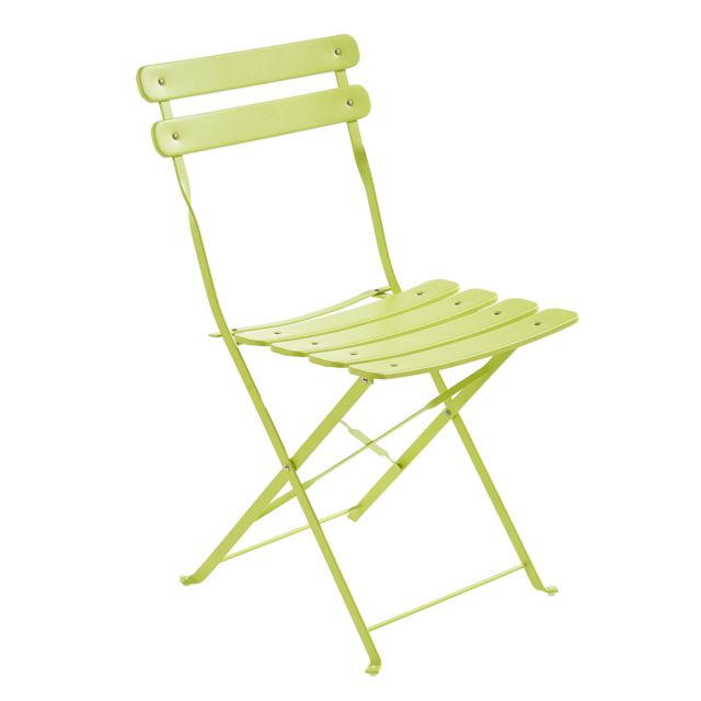 CARREFOUR - Chaise Bistrot pliante - Vert