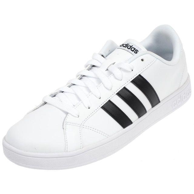 Chaussures pas cher Designer ADIDAS Baskets basses en cuir
