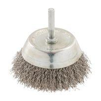 Silverline - Brosse à boisseau fils d'acier inox