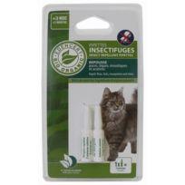 Vitalveto - Pipette insectifuge Bio contrôlé Edencert - Pour chat