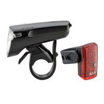 Axa - GreenLine 35 - Kit éclairage vélo - noir