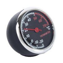Wewoo - Outils décoratifs de sonde de température ronde de pointeur rond en plastique de thermomètre portatif